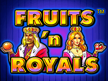Автомат Fruits And Royals в Вулкане Удачи